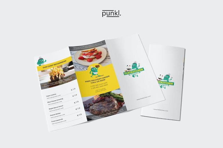 Thumbnail for FlatKitchen Trifold Brochure