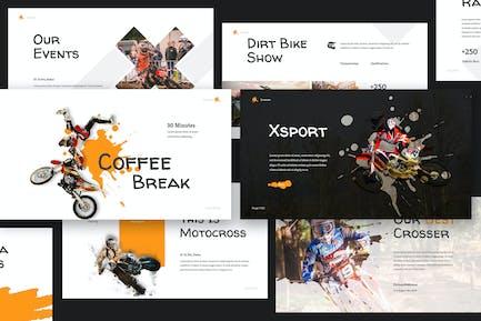 Xtreme Sport Keynote Presentation