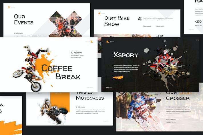 Thumbnail for Xtreme Sport Keynote Presentation