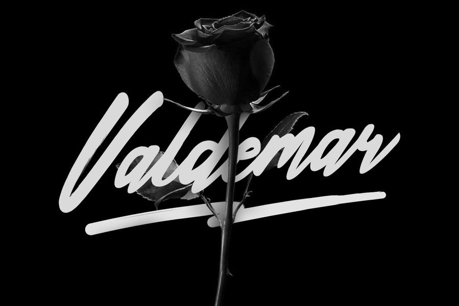Valdemar Typeface