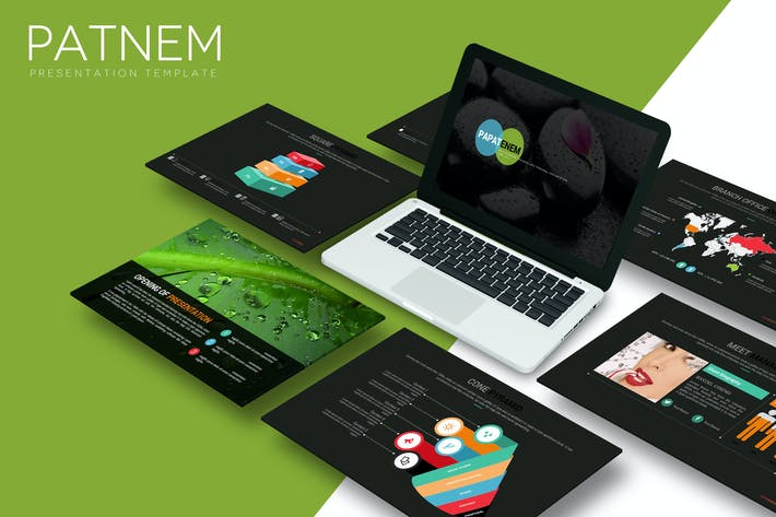 Thumbnail for Patnem - Powerpoint Template