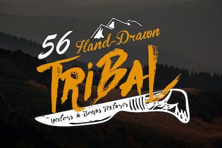 Hand-Drawn Tribal Vectors