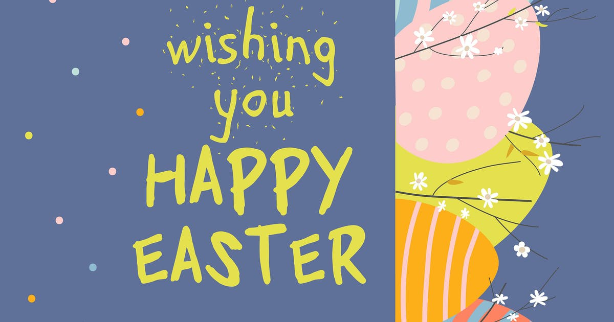 Download Cartoon Easter eggs and flowers. Vector illustrati by masastarus
