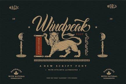Windpeak Decorative Script