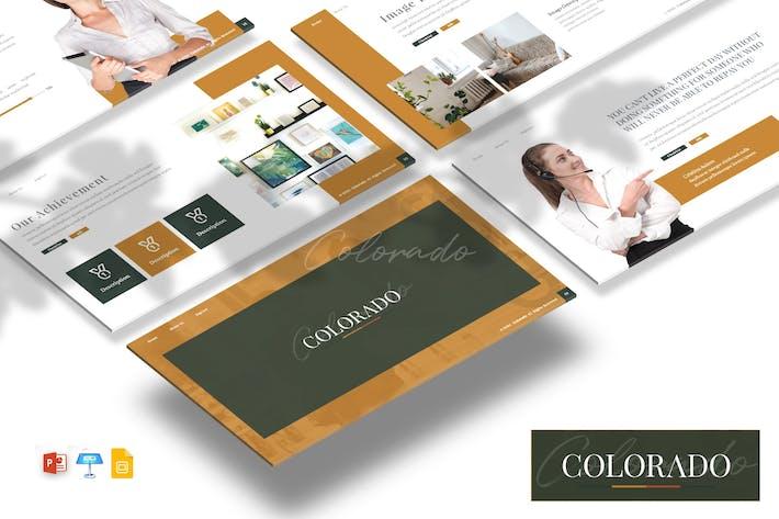 Thumbnail for Colorado - Business Presentation Template