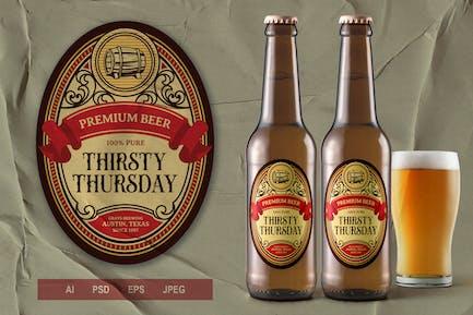 Vintage Label - Liquor V1