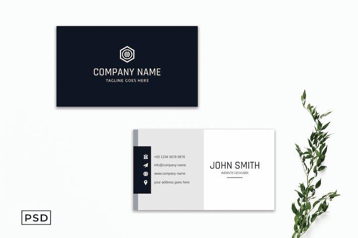 Modern Creative Business Card Template V2