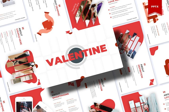Thumbnail for Valentine | Powerpoint Template