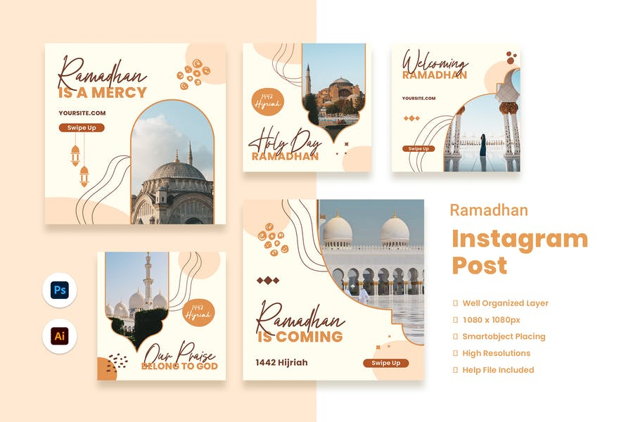 Ramadan Mubarak Instagram Post