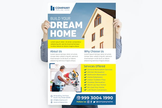 Build Your Dream Home Poster