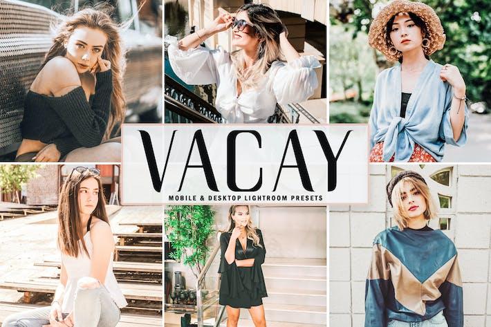 Thumbnail for Vacay Mobile & Desktop Lightroom Presets