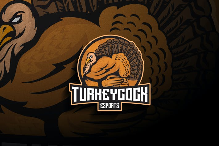 Turkeycock Esports - Mascot & Esport Logo