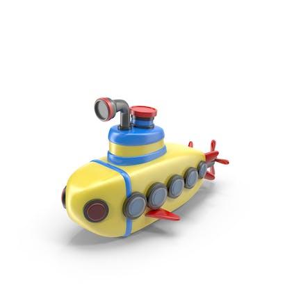 Cartoon U-Boot