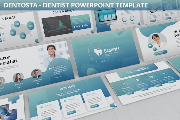 Dentosta - Dentist Powerpoint Template