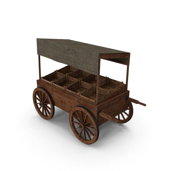 Wooden Cart Market