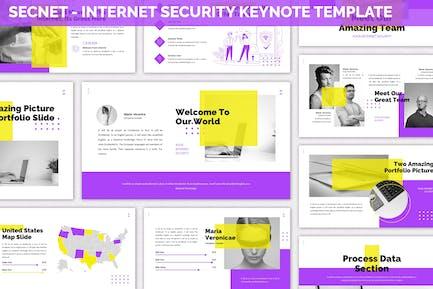 Secnet - Internet Security Keynote Template