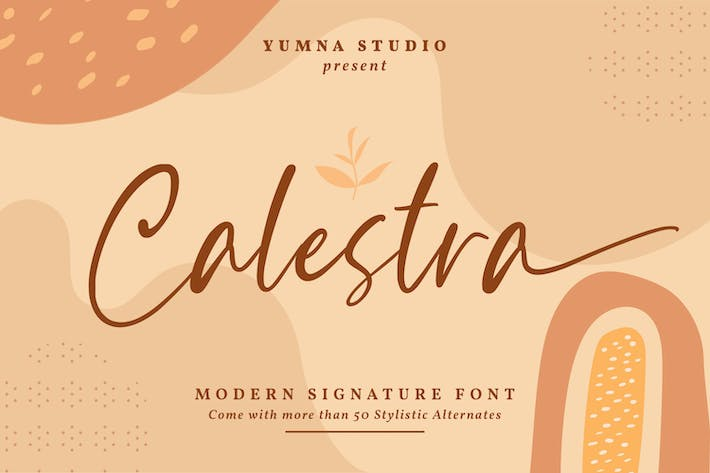 Thumbnail for Calestra - Fuente Signature Moderna