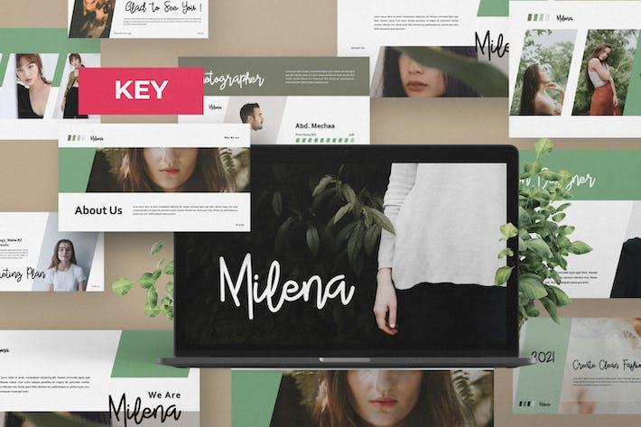 Milena Creative Keynote