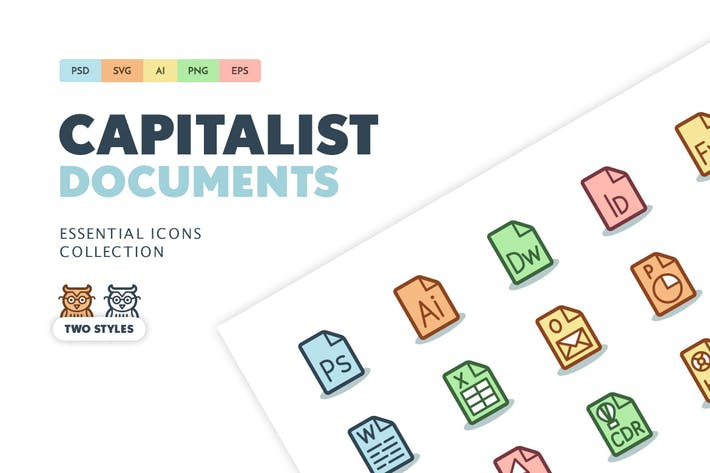 Thumbnail for Capitalist Icons: Documents
