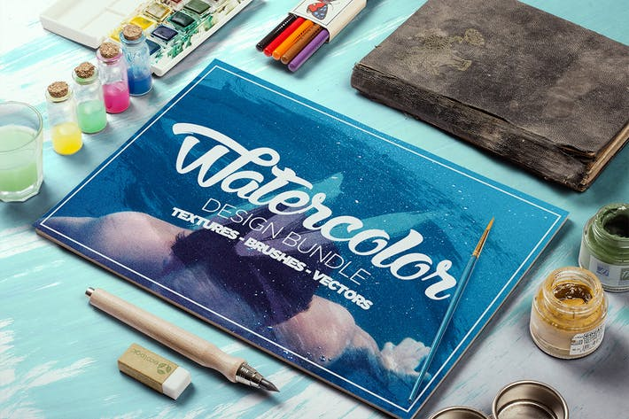 Thumbnail for Watercolor Design Bundle