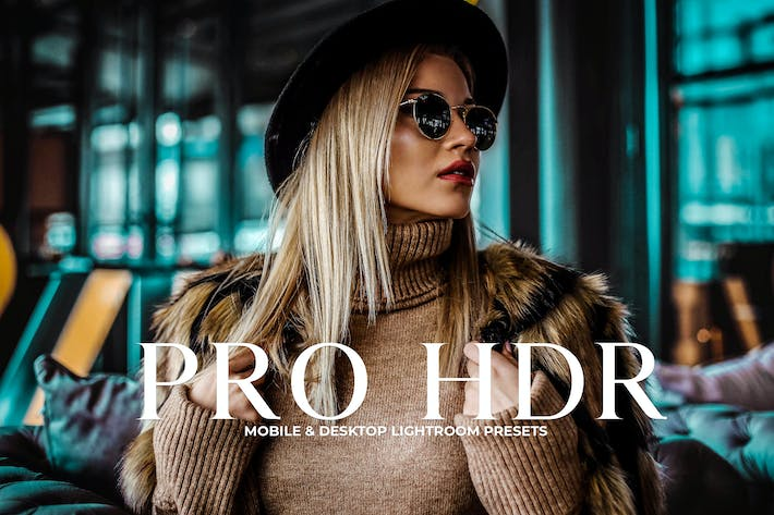Cover Image For Pro HDR Collection Lightroom Presets