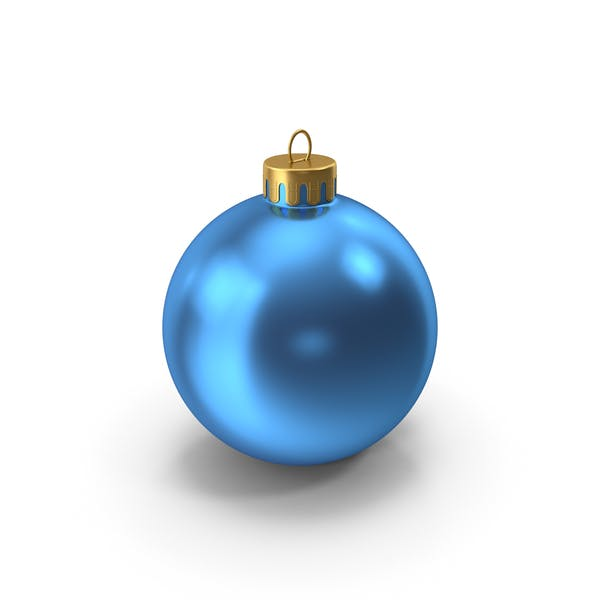 Thumbnail for Christmas Ornament Blue Gold