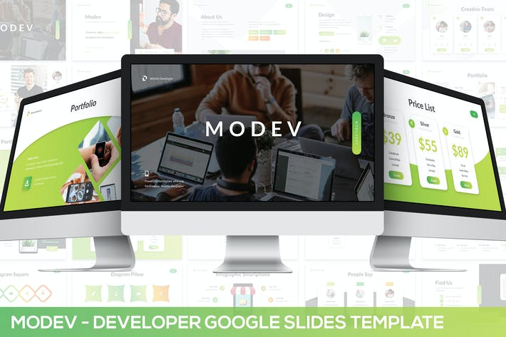 Thumbnail for Modev Google Slides - Developer Presentation
