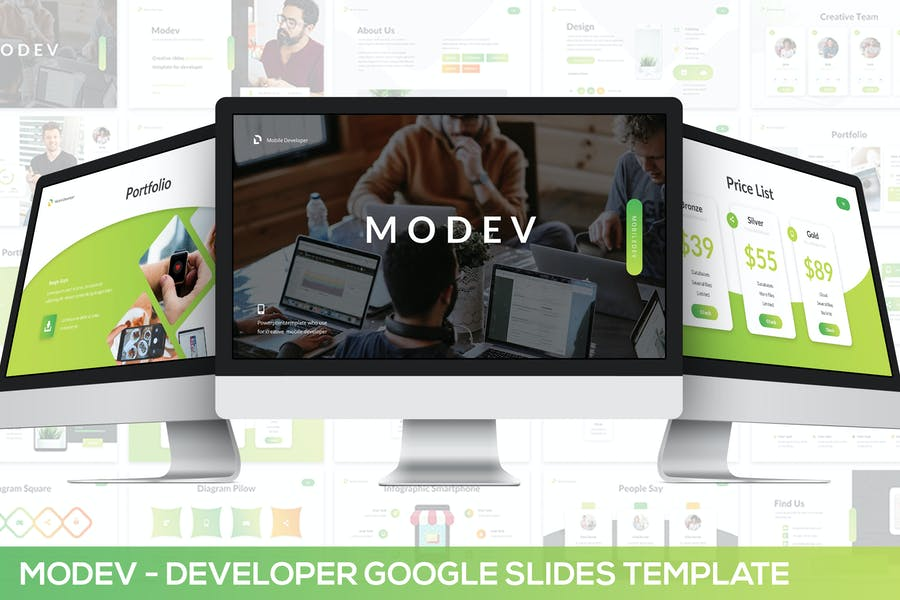 Modev Google Slides - Developer Presentation