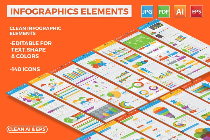 Thumbnail for Modern Infographic Elements