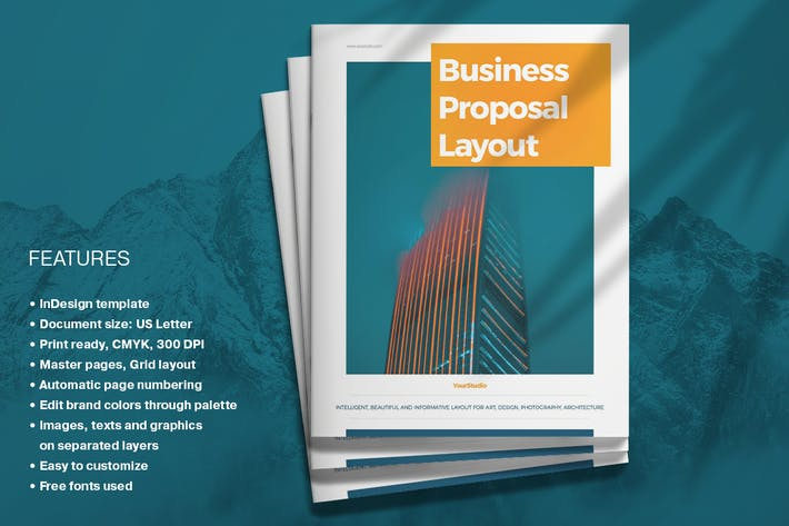 Thumbnail for Business Proposal Layout