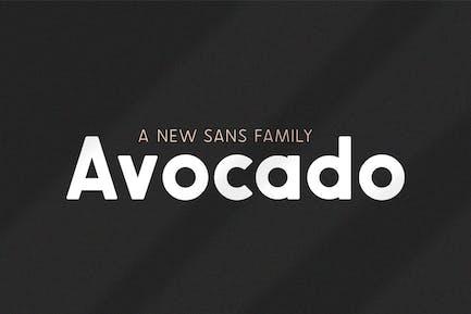 Avocado Sans Familia tipográfica