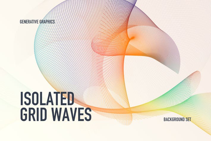 Cover Image For Isolated Grid Waves Backgrounds