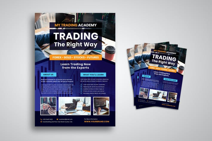 Thumbnail for Financial Trading Academy Flyer