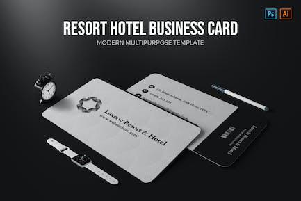 Resort Hotel - Visitenkarte