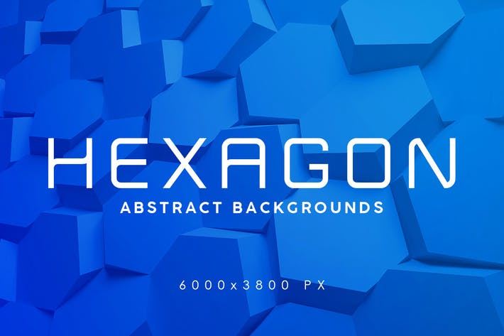 3D Hexagon Backgrounds