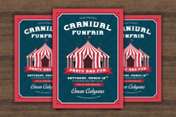 Thumbnail for Carnival Funfair Flyer