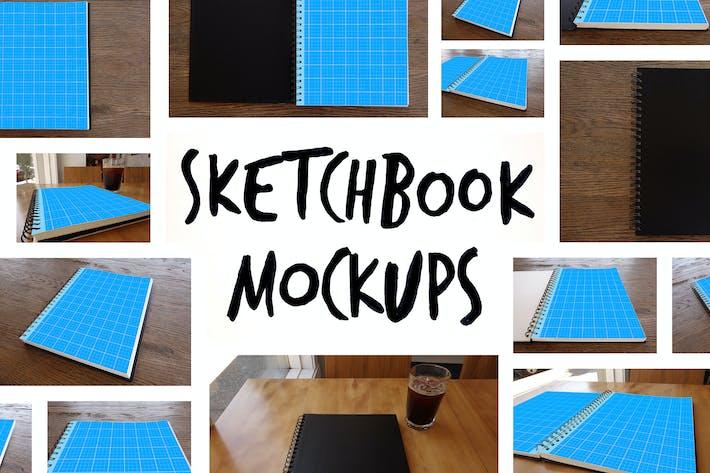 Thumbnail for 15 Sketchbook Mockups