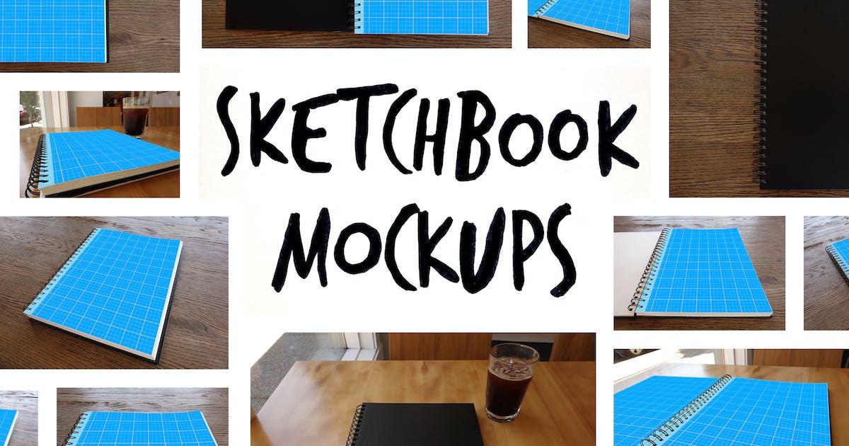 Download 15 Sketchbook Mockups by sparklestock