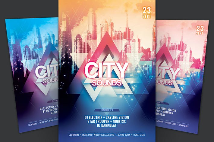 Thumbnail for City Sounds Flyer