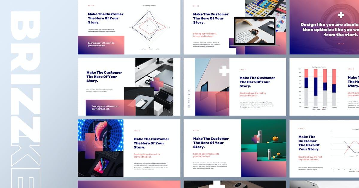 Download Brizz - Creative Modern Keynote Template by Slidehack