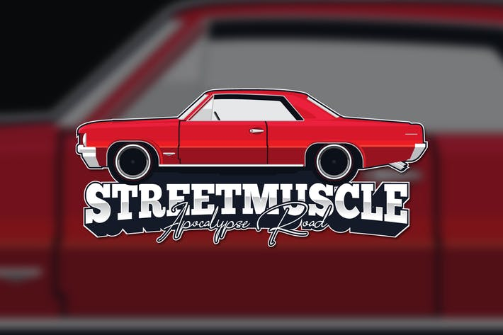 Cover Image For Muscle Car Logo