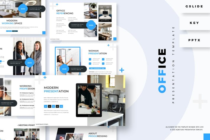 Thumbnail for Office - Presentation Template