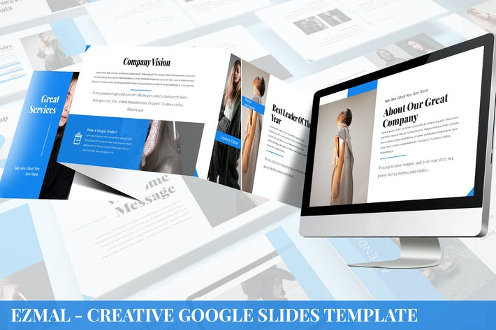 Thumbnail for Ezmal - Creative Google Slides Template