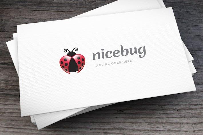 Thumbnail for Шаблон логотипа Nicebug