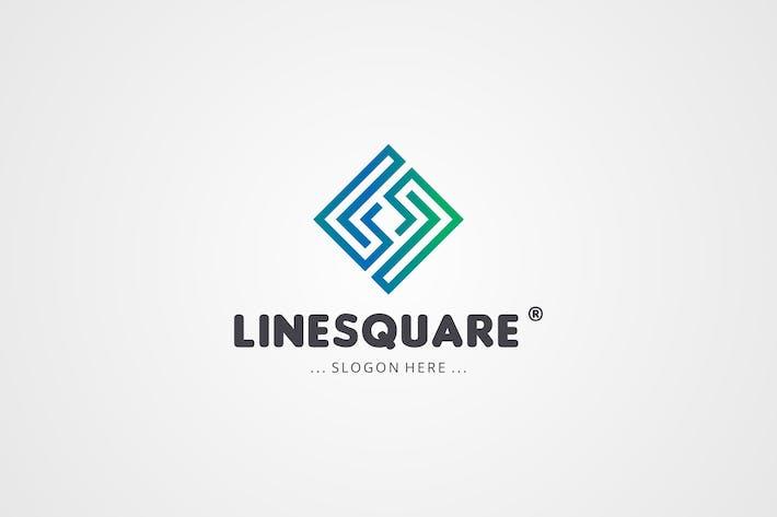 Thumbnail for Line Square Logo