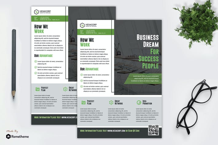 Thumbnail for Success - Corporate Flyer