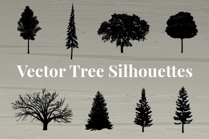 Thumbnail for Vector Tree Silhouettes