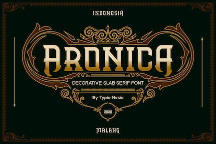 Aronica Decorative Slab