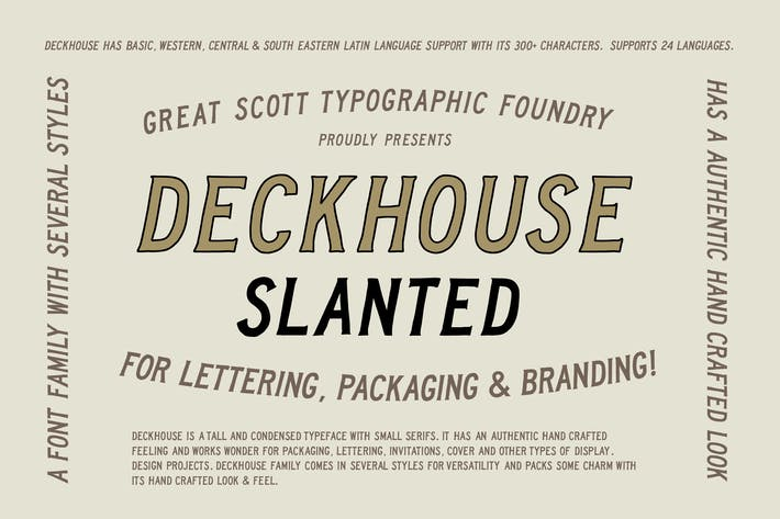 Thumbnail for Deckhouse Slanted