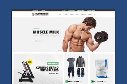 BodyCenter - Fitness WooCommerce WordPress Theme